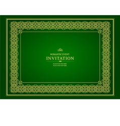 al 0905 invitation 02 vector image