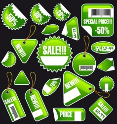 collection of a spring blanks vector image vector image