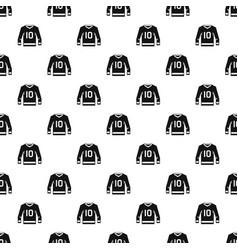 Hockey jersey pattern vector