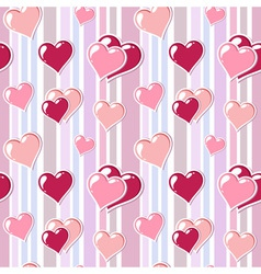 Valentine love stripped background vector