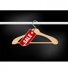 clothing sale vector image