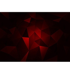Red Dark vector image