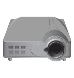 Projector grey color vector