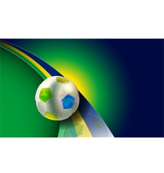 brazil 2014 vector image vector image
