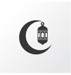 crescent icon symbol premium quality isolated vector image vector image