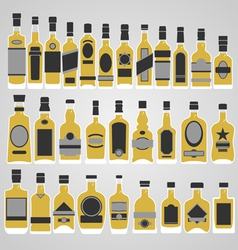 Whisky store vector