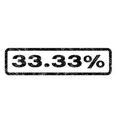 3333 percent watermark stamp vector