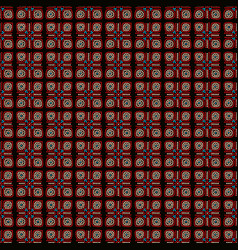 ethnic seamless pattern background in brown and vector image vector image