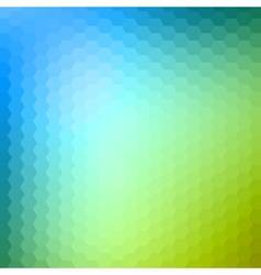 Abstract Hexagonal Background vector image vector image