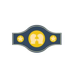 Boxing championship belt vector