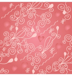 romantic pink vector image