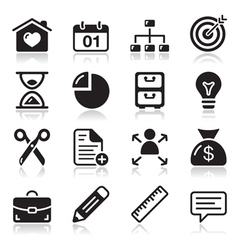 Internet web icons set vector image