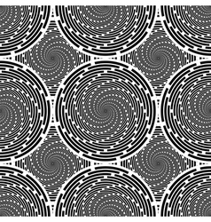 Design seamless twirl movement background vector
