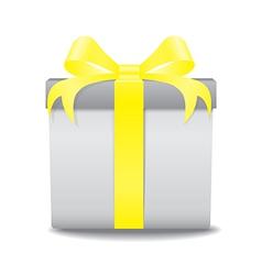gift box ye vector image vector image