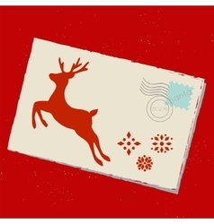 Mail to Santa vector image