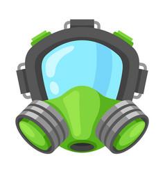 respirator safe mask vector image vector image