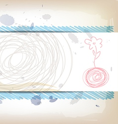 Art banner design vector