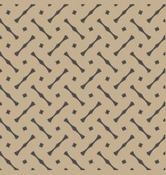 Tile black and pastel pattern or dark background vector