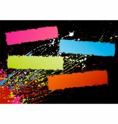 spectrum frames vector image