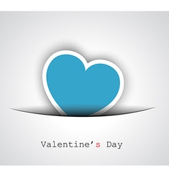 Valentines day background for your love themed vector