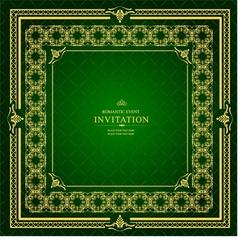 al 0905 invitation 04 vector image vector image