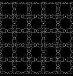 cassia fistula - gloden shower flower on black vector image vector image