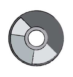 Compact disk data archive digital audio vector
