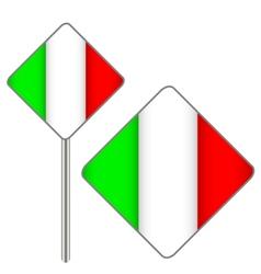 Italian signs vector