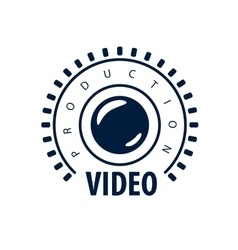 logo video vector image