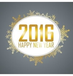 New year background with a speech bubble vector