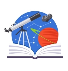 Astronomy Emblem vector image