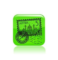 austria icon vector image vector image