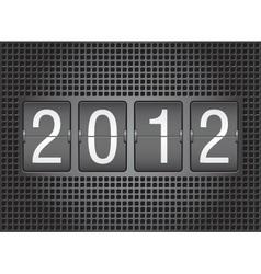 Calendar new year vector