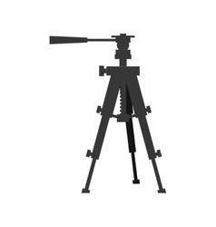 Camera tripod icon gadget design graphic vector
