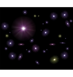Galaxy Stars Background vector image