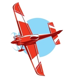 Sport plane vector