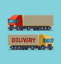 truck lorry symbol or icon delivery shipping vector image vector image