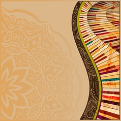 Musical background2 vector