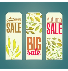 Sales labels vector
