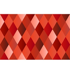 Red diamond polygon background vector