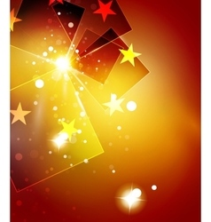 Christmas orange abstract background with white vector