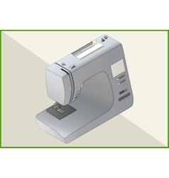 Sewing machine 3d vector