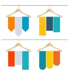 Hanger Sale Banner Set vector image