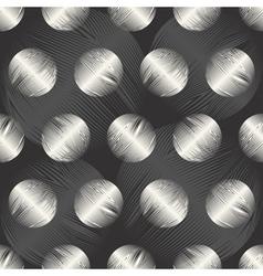 textured polka dot petals vector image vector image
