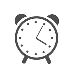 web icon alarm clock vector image vector image