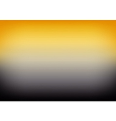 Yellow Black Gradient Background vector image vector image
