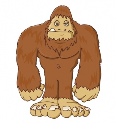 Big foot vector