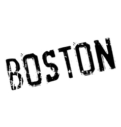 Boston stamp rubber grunge vector