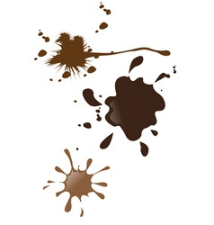 mud splatter vector image