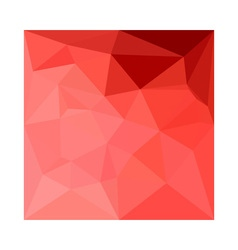 Medium violet red abstract low polygon background vector
